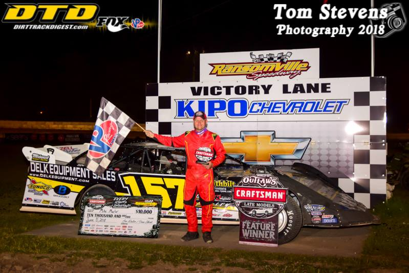 WNY Motorsports: Marlar takes WoO Late Model win at Ransomville Speedway