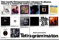 Tetragrammaton Werbeanzeige 1969