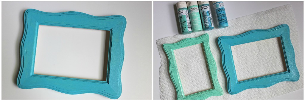 painted wood picture frames. I Painted The Unfinished Wooden Plaque Part Of Frame Bottom Base Layered Wood Picture Frames