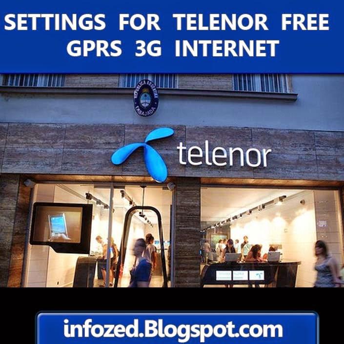 Telenor 3g free internet proxy