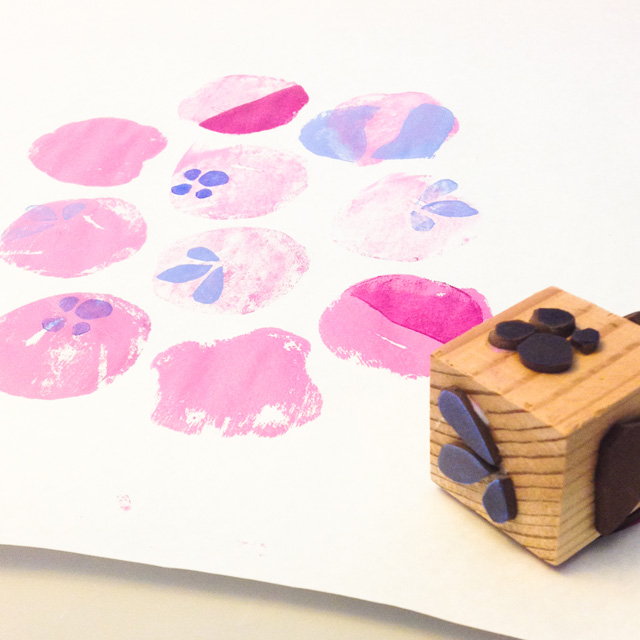 stamp and printmaking