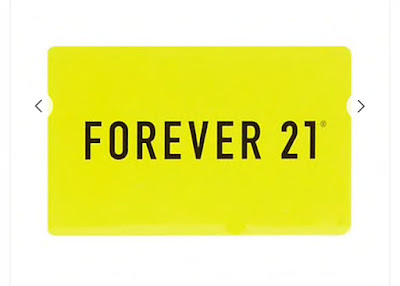 Gift Guide for Teen Girls, forever 21 gift card