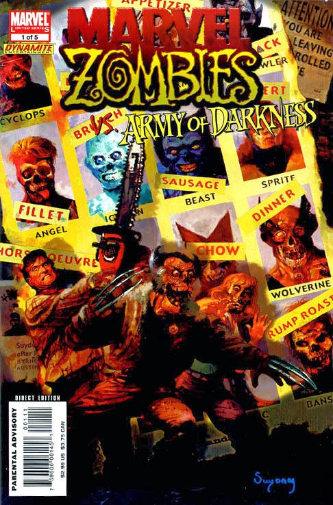 Marvel ZOmbies Homenaje Uncanny X-Men 141