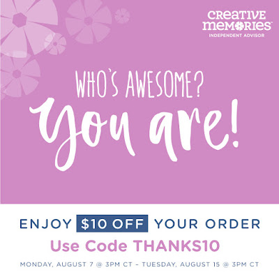 Creative memories coupon code