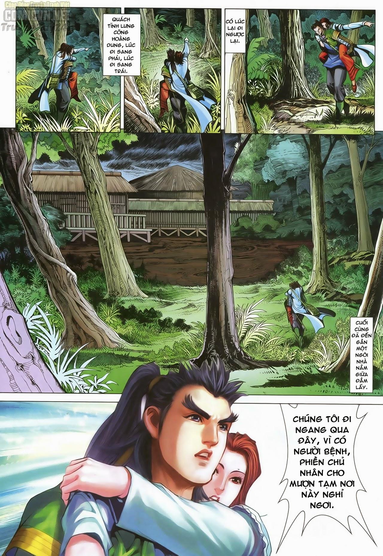 Anh Hùng Xạ Điêu anh hùng xạ đêu chap 70: hắc chiểu ẩn nữ trang 9