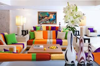 desain corak model sofa