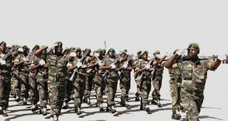 Las Fuerzas armadas de Angola