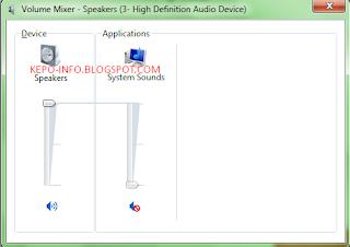 Cara Mengatasi Sound Laptop Rusak / Mati / Tidak Berbunyi