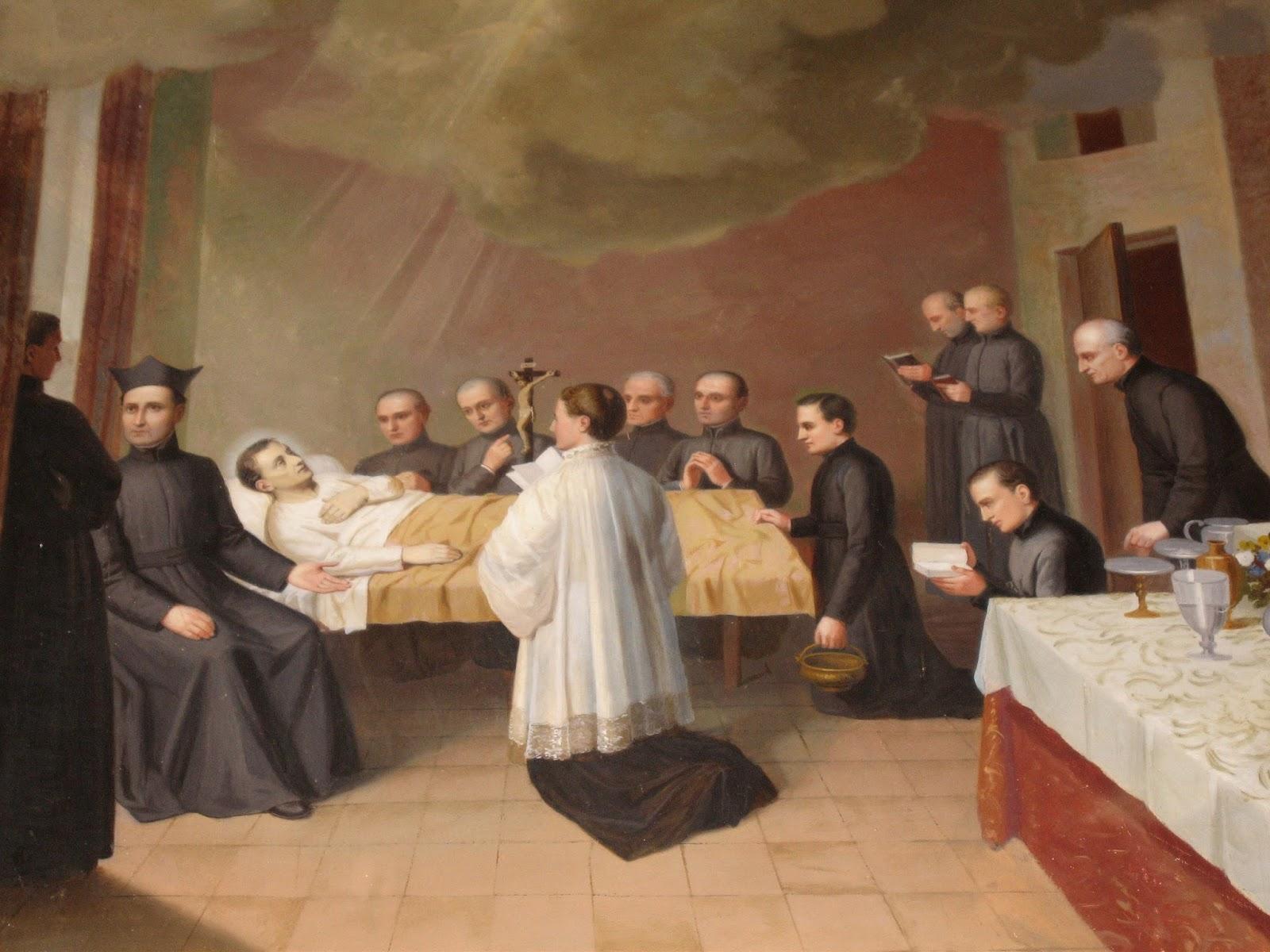muerte de San Luis Gonzaga-San Luis Gonzaga Quito Ecuador