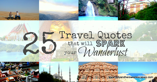 25 Inspirational Travel Quotes