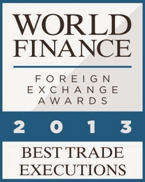 anugerah exness, exness award Best Trade Executions 2013 World Finance