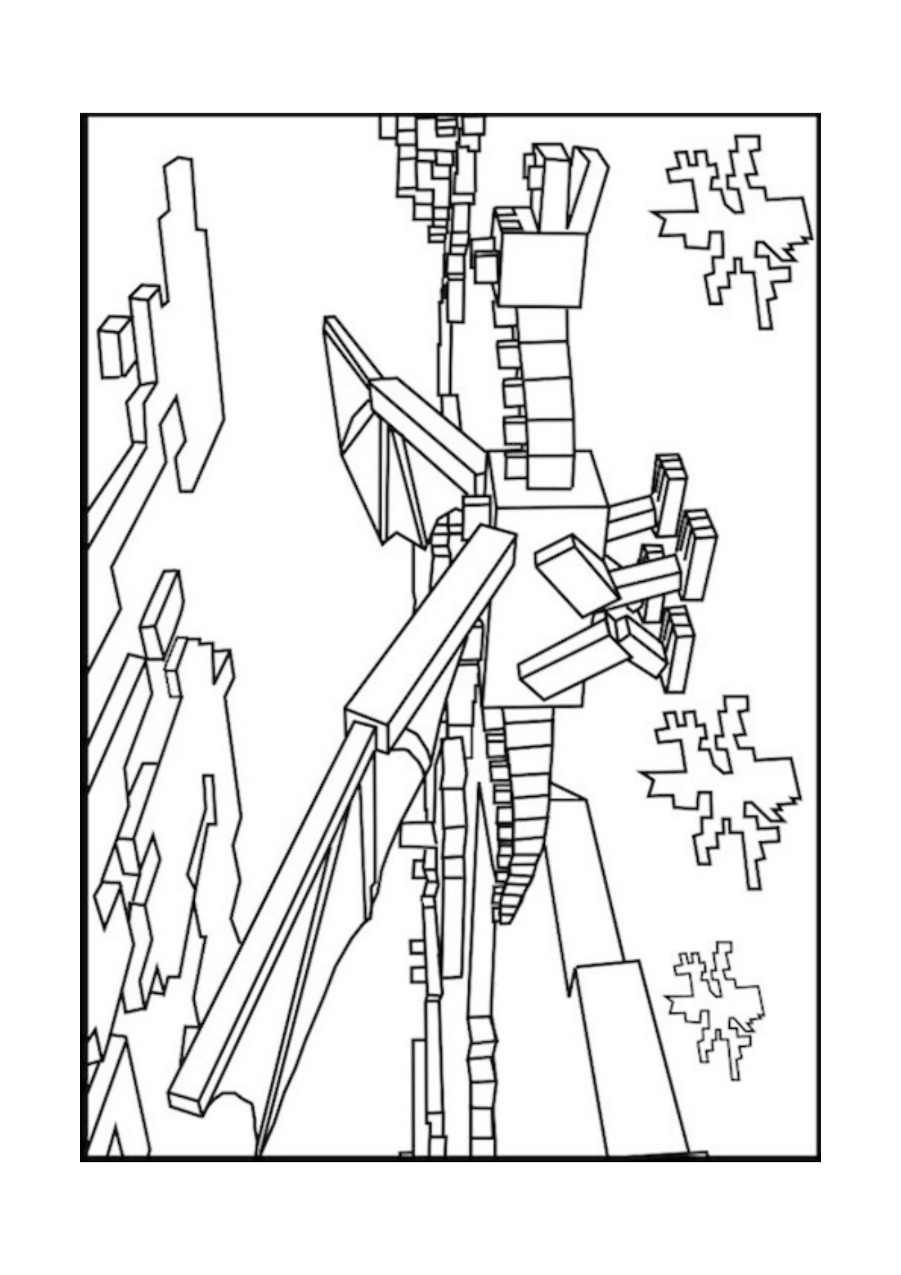 Best HD Minecraft Page Coloring Sheets Images - Free ...
