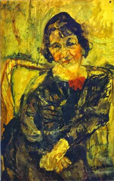 Mulher Jovem - Chaïm Soutine e seu expressionismo violento e atormentado