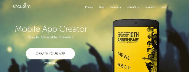 ShoutEm Best Platforms To Develop Mobile Apps