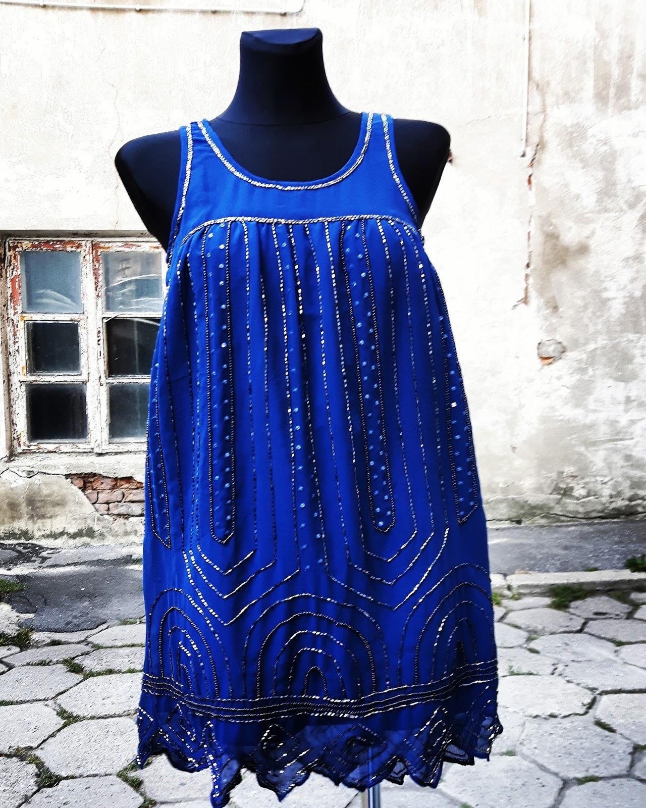 Vintage Boutique Sukienka Vintage Wieczorowa Koktajlowe Na Wesele