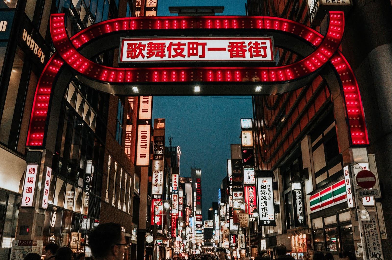 Grey Suede Shinjuku Tokyo Japan