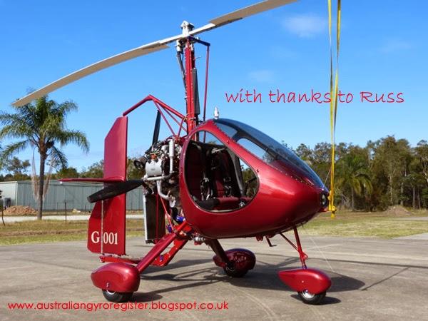 Australian Gyro Register: Gyrocopters in Australia - Registrations