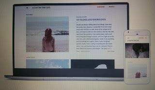 visuel de mon blog thème soho blogger