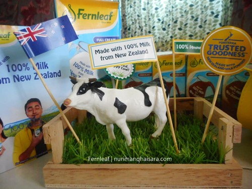 LEMBU FERNLEAF, Lembu tenusu dan rumput