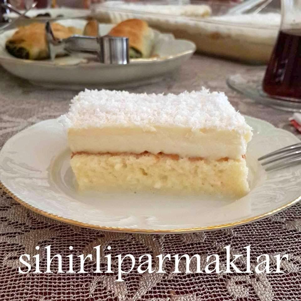 Ispanaklı Gelin Pastası Tarifi