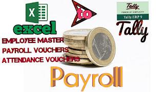 EXCEL2TALLY-Payroll