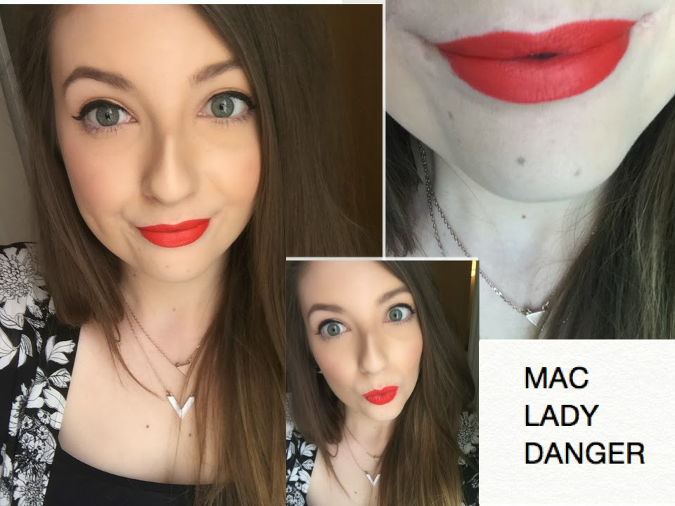 Preferenza MAC Red Lipstick Comparisons - Russian Red vs. Lady Danger vs  XJ18
