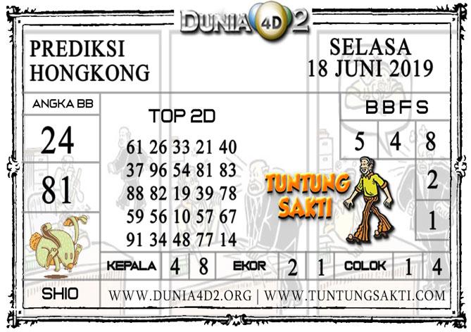 """Prediksi Togel """"HONGKONG"""" DUNIA4D2 18 JUNI 2019"""