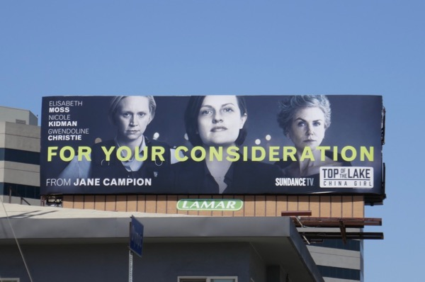 Top of Lake China Girl 2018 Emmy FYC billboard