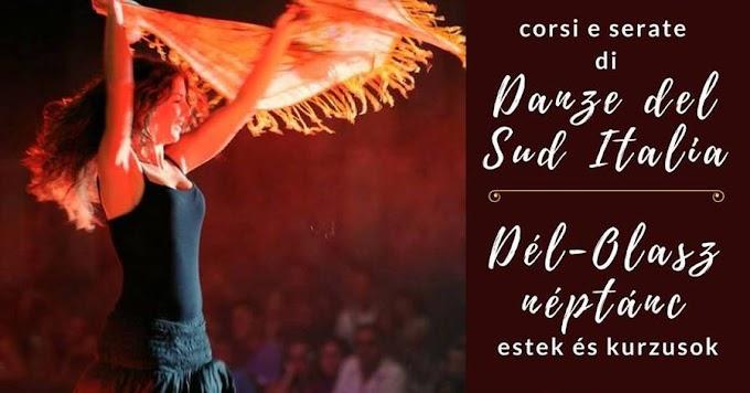 Corso danze del Sud Italia - Dél-olasz néptánc kurzus
