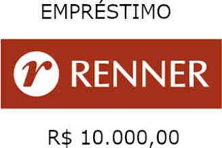 EMPRÉSTIMO RENNER