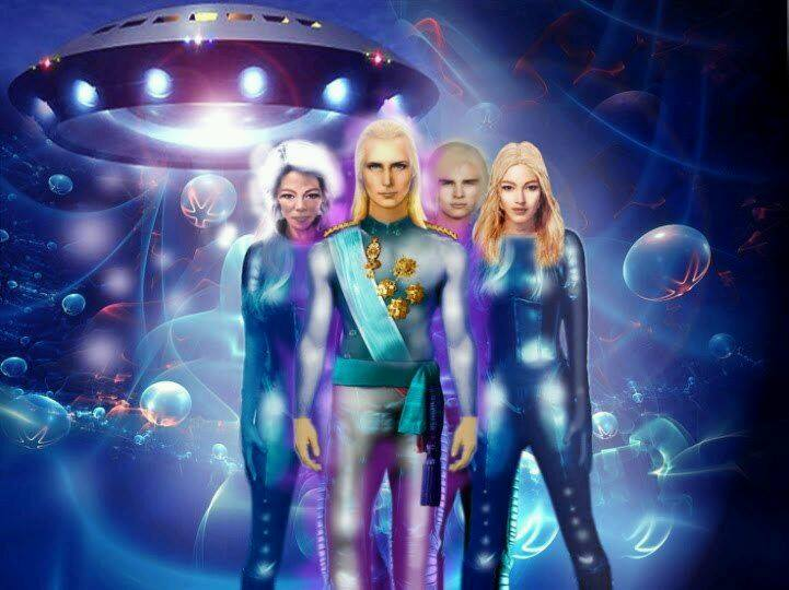 Резултат слика за Andromedan Intergalactic Beings of the Light.