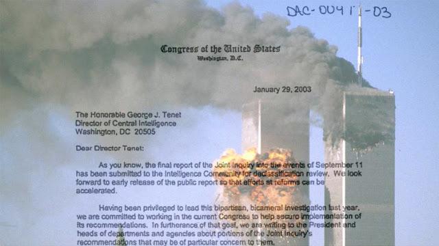 Publican las páginas secretas del informe clasificado sobre el 11S