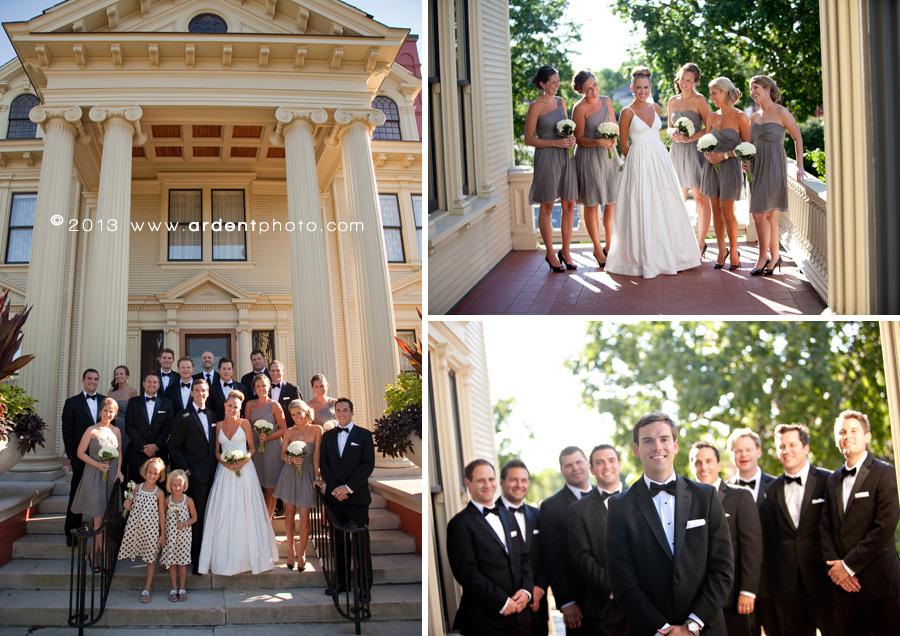 Wausau Wedding Yawkey House Meghan Brian Fine Art