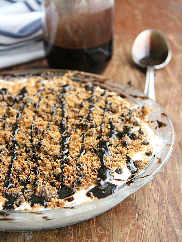 Mini Chocolate Chip Ice Cream Pie