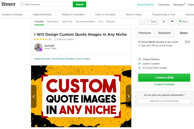 Earn Money by Selling Images on Fiverr as a Freelancer