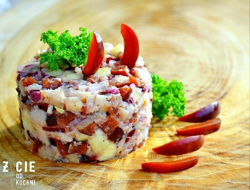 wedzona ryba, salatka z ryba, przepisy na salatki, pstrag ojcowski, wedzenie ryb, karp zatorski, zycie od kuchni,