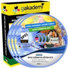 Görüntülü KPSS Coğrafya Eğitim Seti 17 DVD