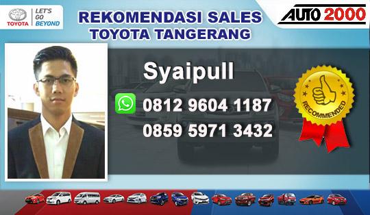Rekomendasi Sales Toyota Kutabumi Pasar Kemis Tangerang