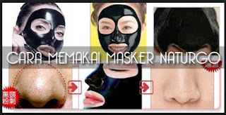 Cara Memakai Masker Naturgo