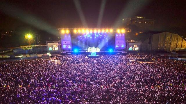 Le festival Mawazine au Maroc attire plus d'un millions de spectateurs.