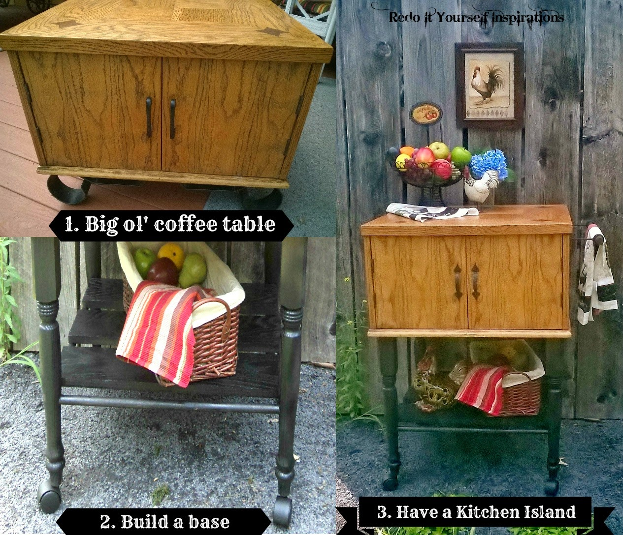 Build A Kitchen Table: Redo It Yourself Inspirations