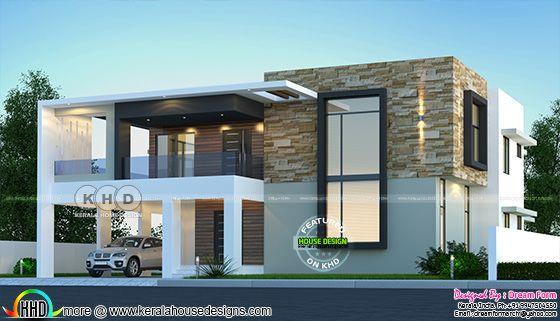 Modern contemporary house