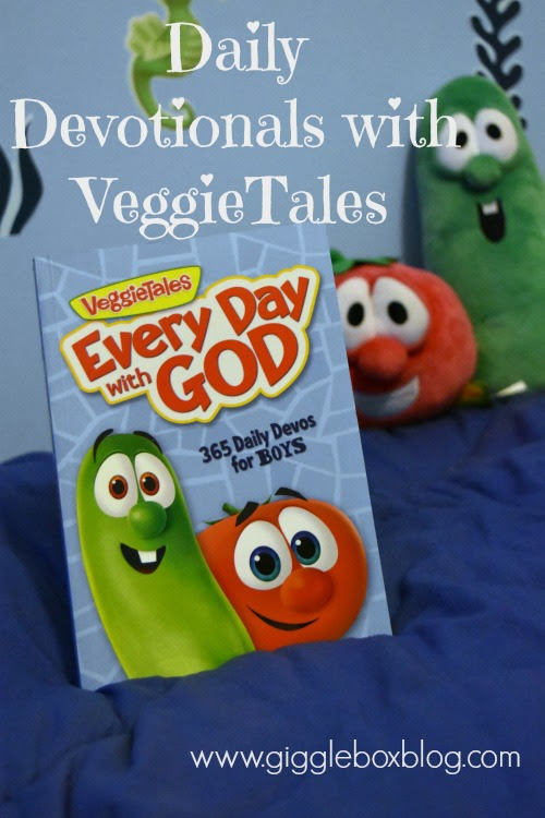 children daily devotional review, VeggieTales' children's devotional Every Day With God review, VeggieTales Every Day With God daily devotional, VeggieTales,