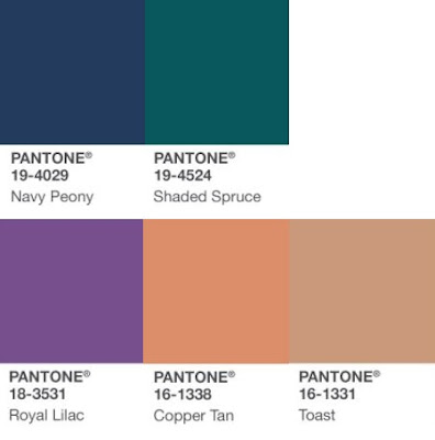 Fashion | The Autumn Winter 17 Trend Report Pantone Winter Florals Palette