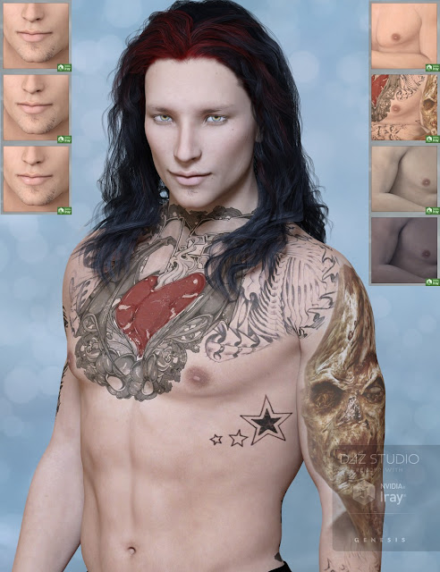 Titus-F for Genesis 3 Male