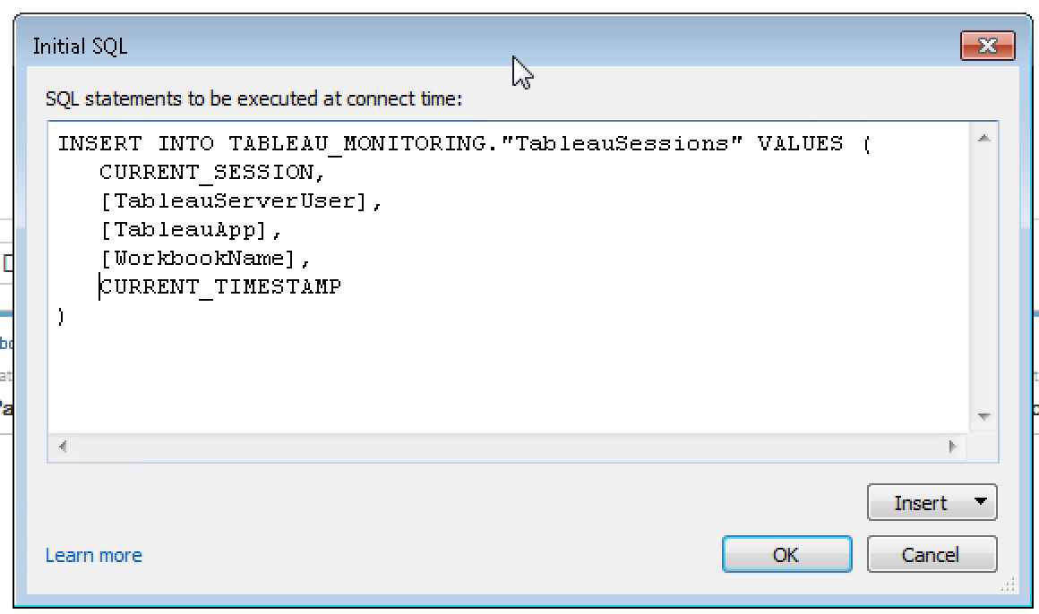 Customizing the tableau server experience part 15 so when a user views a dashboard on tableau exasol sees the user as tableau server the good news is that you can use initial sql with exasol starting with baditri Image collections