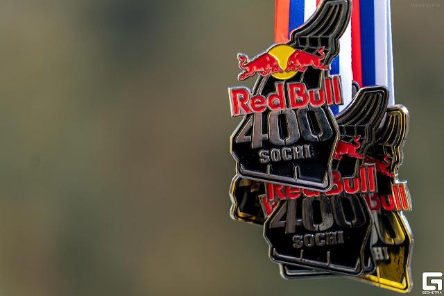 Red Bull 400 Sochi 2018, медали