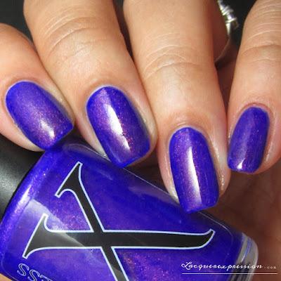 nail polish swacth of Vulcan by Baroness X