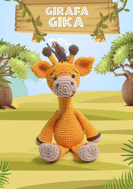 Kit Amigurumi Coleção Safari Baby Círculo - Leão - Bazar Horizonte | 640x452
