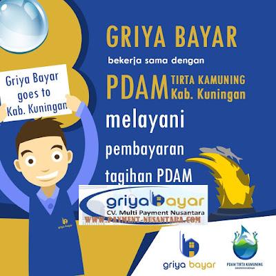 Daftar Griya Bayar PDAM Tirta Kamuning Kabupaten Kuningan